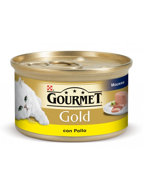 GOLD MOUSSE POLLO SELECTO 85 grs