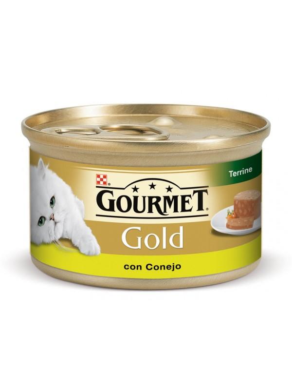 GOLD TERRINE CONEJO CAZA 85 grs